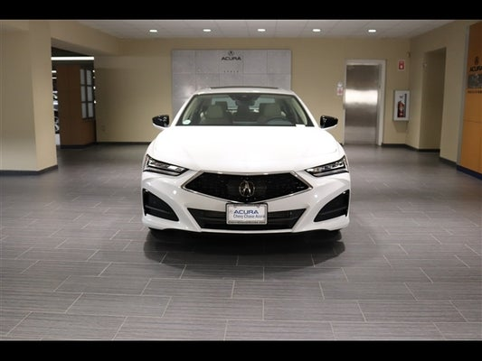 2021 acura tlx with technology package in bethesda, md