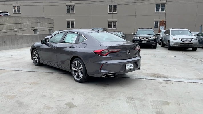 2021 acura tlx sh-awd with advance package in bethesda, md