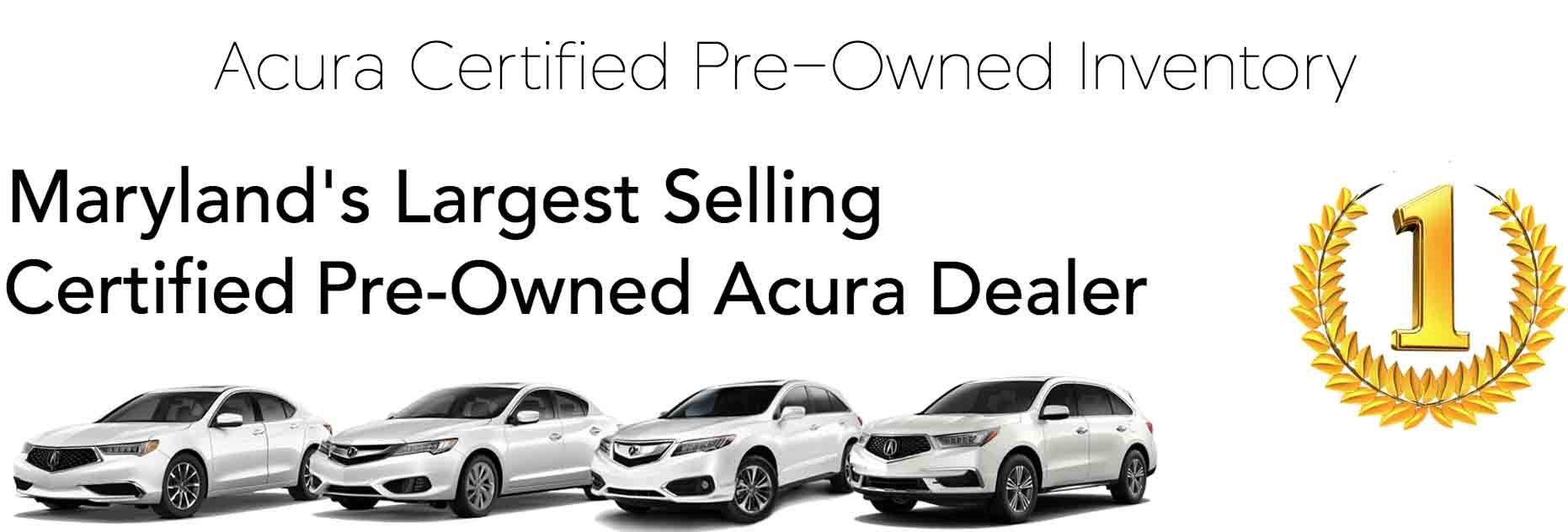 Acura Certified Pre-Owned >> Certified Pre Owned Acura Cars In Bethesda Md 20814 Chevy Chase Acura